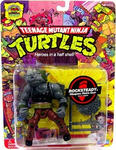 Teenage Mutant Ninja Turtles 25th Anniversary Action Figure Rocksteady