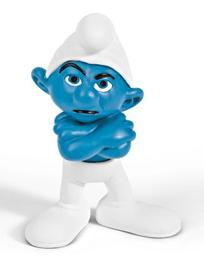 Schleich The Smurfs Mini Figure Grouchy