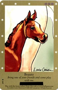 Bella Sara Horses Trading Card Game Series 2 Single Card Common 3/97 Beauty
