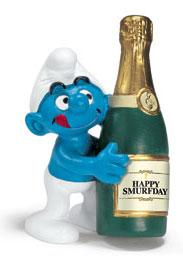 Schleich The Smurfs Mini Figure Bottle Smurf