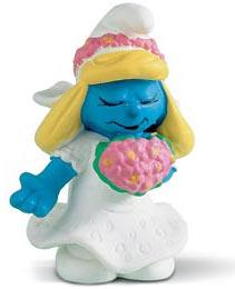 Schleich The Smurfs Mini Figure Bride