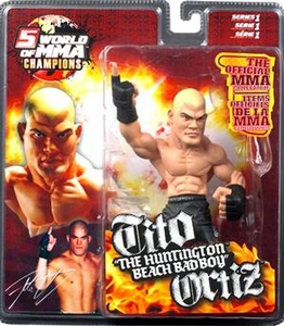 Round 5 World of MMA Champions UFC Series 1 Action Figure Tito