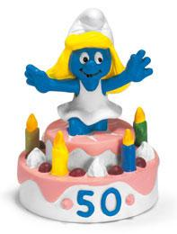 Schleich The Smurfs Mini Figure Surprise Smurfette