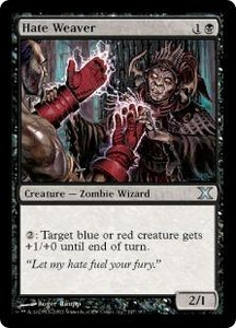 Magic the Gathering Tenth Edition Single Card Uncommon #147 Hate Weaver