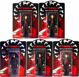 My Chemical Romance Set of 5 Action Figures