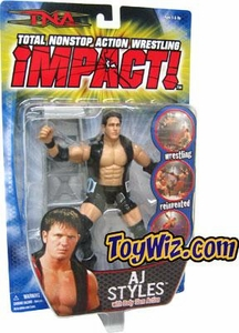 TNA Wrestling Series 1 Action Figure AJ Styles