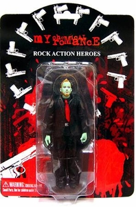 My Chemical Romance Action Figure Zombie Variant Bob Bryar