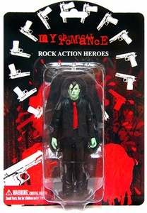 My Chemical Romance Action Figure Zombie Variant Frank Iero