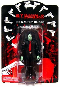 My Chemical Romance Action Figure Zombie Variant Gerard Way