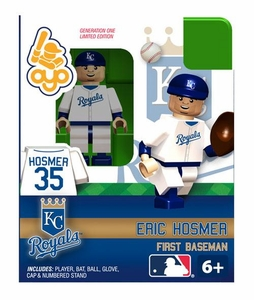 OYO Baseball MLB Building Brick Minifigure Eric Hosmer [Kansas City Royals]