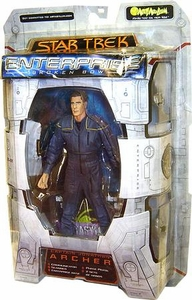 Star Trek Enterprise Art Asylum Action Figure Captain Jonathan Archer
