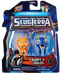 Slugterra Mini Figure 2-Pack Burpy & Joules [Includes Code for Exclusive Game Items]