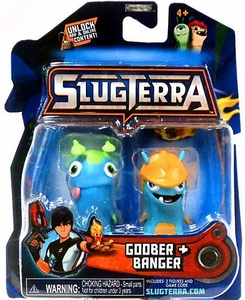 Slugterra Mini Figure 2-Pack Goober & Banger [Includes Code for Exclusive Game Items] Hot!