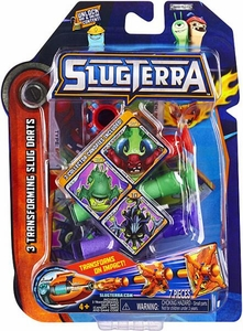 Slugterra Transforming Slug Darts 3-Pack Bludgeon, Doc & Stinky [Includes Code for Exclusive Game Items]