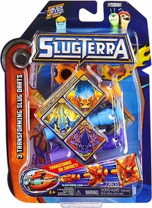 Slugterra Transforming Slug Darts 3-Pack Burpy V1, Joules & Spinner [Includes Code for Exclusive Game Items]
