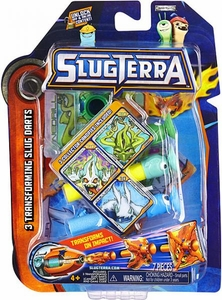 Slugterra Transforming Slug Darts 3-Pack Vinedrill, Frightgeist & Chiller [Includes Code for Exclusive Game Items]
