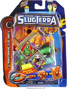 Slugterra Transforming Slug Darts 3-Pack Burpy V2, Doc V2 & Frightgeist V2 [Includes Code for Exclusive Game Items]