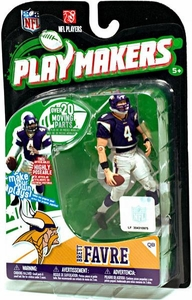 McFarlane Toys NFL Playmakers Series 1 Action Figure Brett Favre (Minnesota Vikings)