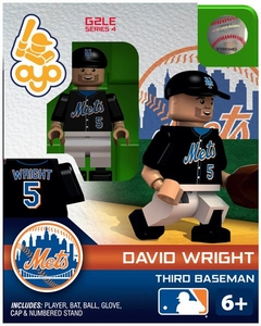 OYO Baseball MLB Generation 2 Building Brick Minifigure David Wright [New York Mets]