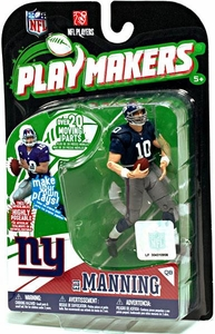 McFarlane Toys NFL Playmakers Series 1 Action Figure Eli Manning (New York Giants)