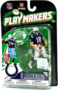 McFarlane Toys NFL Playmakers Series 1 Action Figure Peyton Manning (Indianapolis Colts)