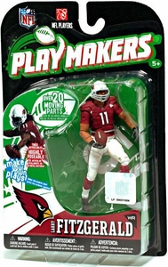 McFarlane Toys NFL Playmakers Series 1 Action Figure Larry Fitzgerald (Arizona Cardinals)