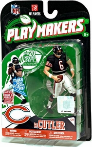 McFarlane Toys NFL Playmakers Series 1 Action Figure Jay Cutler (Chicago Bears)