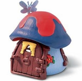 Schleich The Smurfs Blue Mushroom Cottage