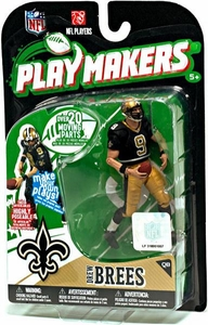 McFarlane Toys NFL Playmakers Series 1 Action Figure Drew Brees (New Orleans Saints)