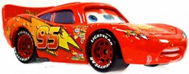 Wet Lightning McQueen [Lenticular Eyes] LOOSE Disney / Pixar CARS Movie 1:55 Die Cast Car