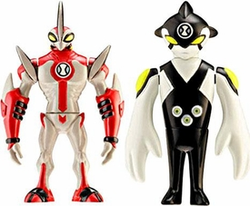 Ben 10 Alien Creation Chamber Mini Figure 2-Pack Ditto [Random Color Eyes] & Way Big