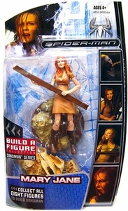Marvel Legends Spider-Man Movie Action Figure Mary Jane [Sandman Build A Figure Piece!]