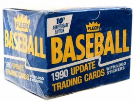 1990 Fleer Baseball Cards Factory Sealed Set