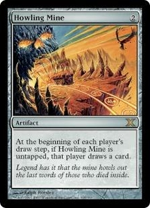 Magic the Gathering Tenth Edition Single Card Rare #325 Howling Mine