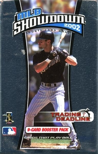 2002 MLB Showdown Trading Deadline Booster Pack [9 Cards]