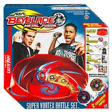Beyblades Metal Fusion Super Vortex Stadium Battle Set [Contains 2 Exclusive Tops]