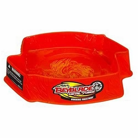 Beyblades Metal Fusion Beystadium Burning Firestrike Stadium