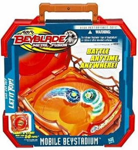 Beyblades Metal Fusion Mobile Beystadium & Carry Case