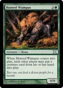 Magic the Gathering Tenth Edition Single Card Uncommon #269 Hunted Wumpus