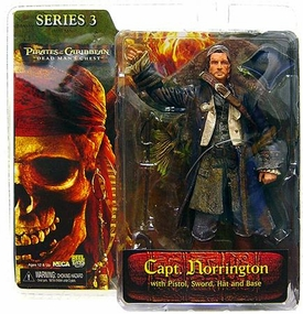 NECA Pirates of the Caribbean Dead Man's Chest Series 3 Action Figure James Norrington