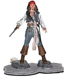 NECA Pirates of the Caribbean Dead Man's Chest Series 3 Action Figure Cannibal Jack Sparrow