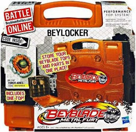 Beyblades ORANGE BeyLocker [Includes Torch Aries!]