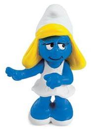 Schleich The Smurfs Mini Figure Smurfette