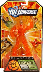 DC Universe Classics Series 17 Action Figure Lex Luthor {Orange Lantern} [Build Anti-Monitor Piece!]