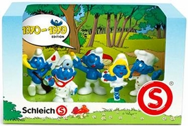 Schleich The Smurfs Mini Figure 5-Pack Set #41256 1970-1979 BLOWOUT SALE!