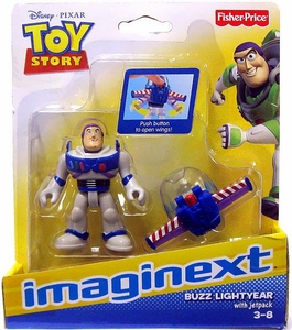 Imaginext Disney / Pixar Toy Story Figure Buzz Lightyear with Jetpack