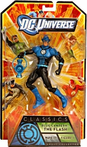 DC Universe Classics Series 17 Action Figure The Flash {Blue Lantern} [Build Anti-Monitor Piece!]