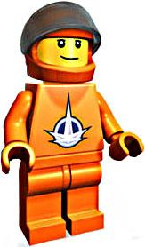 LEGO Universe Exclusive Mini Figure Set #4600514 Astronaut [Bagged]