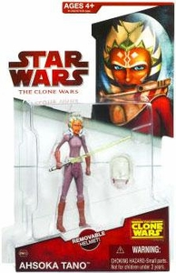 Star Wars 2009 Clone Wars Animated Action Figure CW No. 23 Ahsoka Tano [Space Suit]