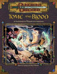 D&D Dungeons & Dragons Core Accessory Tome and Blood: A Guidebook to Wizards and Sorcerers